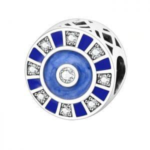 Night Sky Bead fit Original Pandora charms silver 925 Bracelet Pulsera