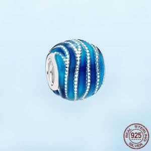 Ocean Beads Charm Fit 925 Sterling Silver