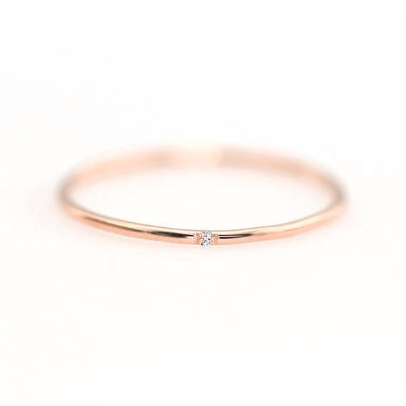 Ultra-Thin Ring for Girls