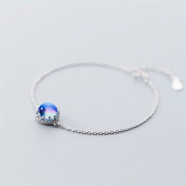 Crystal Aurora Bracelets 925 Sterling Silver