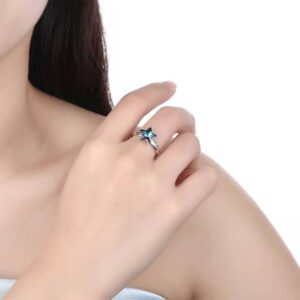 Genuine Star Adjustable Ring 925 Sterling Silver